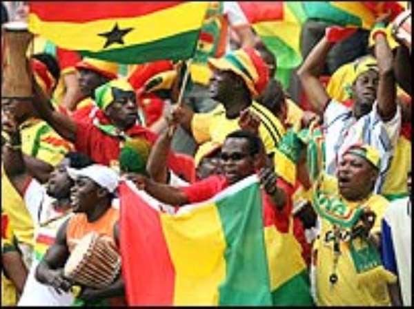 Ghana in full party mood
